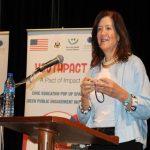 السفيرة شيا :تفتتح برنامج Pop-Up Spaces في صيدا