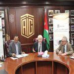 أبوغزاله : يستقبل الدكتور المنصوري ممثل مجلس التخطيط الوطني الليبي